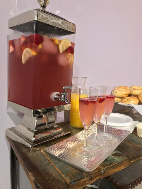 Mothers Day Sangria in Dispenser