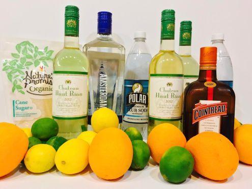 Citrus Sangria Ingredients