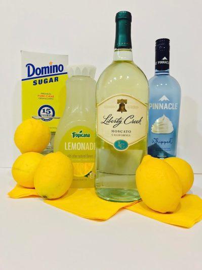 Lemon Meringue Sangria Ingredients